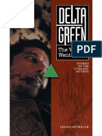 Delta Green - Way It Went Down; Stories of the Cthulhu Mythos