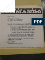 DOD Film Office file on Commando