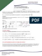 Tema 2 Soluciones Parametricas - Ecuacion Diferencial de Una Familia b (1)