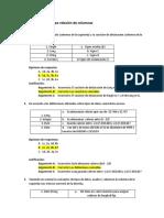 4 Reactivos Del Tipo Relación de Columnas