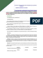 Prueban El Reglamento de Diversos Títulos Del Texto Unico Ordenado de La Ley General de Minería