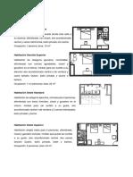 Tipos de Habitaciones