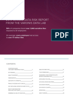 Varonis 2019 Global Data Risk Report