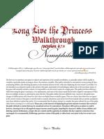 94425 Long Live the Princess Walkthrough Version 0.7.1