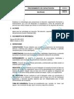 Rh-pr-002 Procedimiento de Capacitciones Vr.3