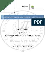 Algebra Para Olimpiadas