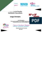 Programa Lengua Extranjera10moy11mo