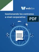 Gestionando Los Contratos a Nivel Corporativo