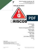 Modelo análise de risco