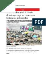 Identificamos Un Problema Público en Nuestra Región