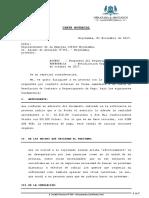 Carta Notarial - Respuesta a Cobro de Deuda