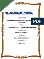FUNDAMENTOS FILOSÓFICOS E HISTÓRICOS DE LA EDUCACIÓN.tarea 3.docx
