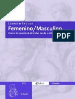 Lo Femenino y Masculino en La Filosofía_ Sagols