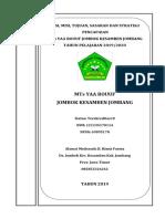 2.1.c Dokumen Program Yang Memuat Strategi Pencapaian Tujuan Madrasah