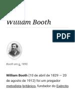 William Booth – Wikipédia, A Enciclopédia Livre