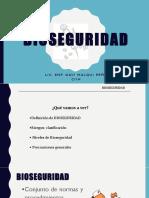 Bioseguridad Int. Tec. Enfermeria