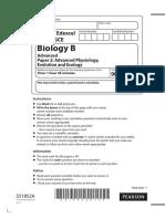 biology a level paper