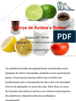 Ácidos e Bases (Biologia- 2019-2) b PDF