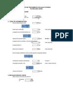 Cálculo Sedimentador + Filtro