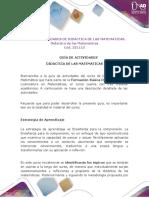 Anexo. Guía de Actividades Individual - Colaborativo (2)