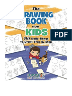 [2017] The Drawing Book for Kids by Woo! Jr. Kids Activities |  365 Daily Things to Draw, Step by Step (Woo! Jr. Kids Activities Books) | Wendybird Press