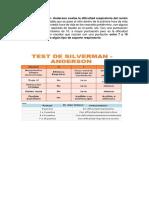 El Test de Silverman 11