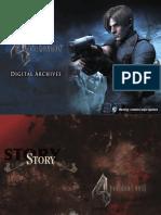 Resident Evil 4 Digital Archives (OFICIAL TRADUZIDO PT-BR)