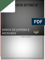 HINOS DE JOVENS E MENORES LINGUAJEM RITMICA.pdf