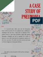 Pneumonia Case Study
