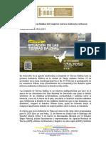 COMUNICADO #47 Comisión de Tierras Baldías del Congreso en Boyacá