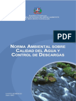 NORMA AMBIENTAL SOBRE CALIDAD DE AGUA Y CONTROL DE DESCARGAS.PDF
