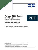 Perkins 4000 Gas engine