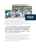 Principais Rabinos Se Unem Em Um Apelo Decisivo Para Que Todos Os Judeus Retornem Do Exílio_06nov.2019