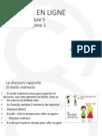 Francés - Módulo5 Semana1