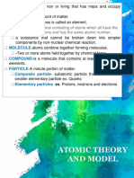 Atomic Model and Theory