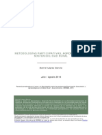 Metodologías Participativas, Agroecología y Sostenibilidad Rural