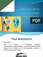 2. Axiomas de La Comunicación
