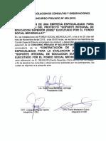 Absolución de Consultas CPN003-2019