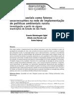 4- Giglio-Luiz-Najberg (2013) - As Relações Sociais Determinantes Politica Ambiental Rural