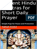 Nina Ram - Ancient Hindu Mantras for Short Daily Prayer_ Simple Puja for Peace and Protection
