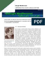Llazar Fundo in Dialoghi Mediterranei
