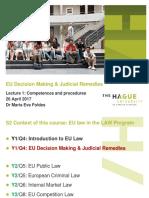 EUDMJR 2017 Lecture 1