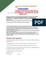 Funciones definidas con varias reglas de correspondencia