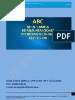 El ABC de La Plla de Remunerac Modulo i