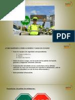 orden y seguridad vial