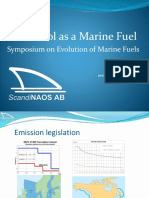 Methanol fuel