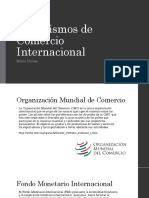 Organismos de Comercio Internacional