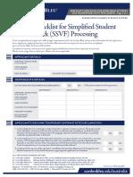 Applicant Checklist-Simplified Student Visa Form_Le Cordon Bleu Australia 2019