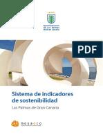 Sistema indicadores sostenibilidad Las Palmas Gran Canaria