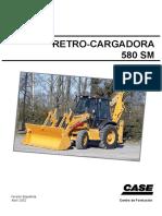 Manual de servicio CASE 580SM